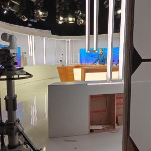 テレビに・・・!