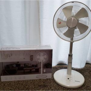 コストコで購入したYAMAZENの扇風機「YLR-AG302」