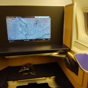 ANA国際線ファーストクラスを味わってみよう! ANA2179便 成田ー伊丹 搭乗記
