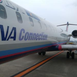 主翼の動きも見られエンジンの音もよく聞こえるのでCRJ-700は最高である。の巻 IBEX60便搭乗記