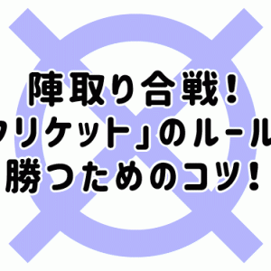 【ダーツ初心者】陣取り合戦!「クリケット」のルールと勝つためのコツ!