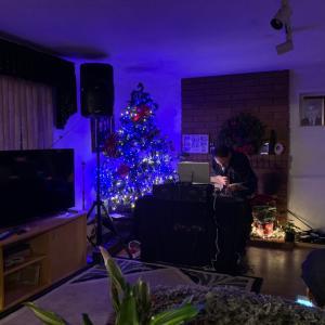 タヒチアンクリスマスパーティーとスパムおにぎり