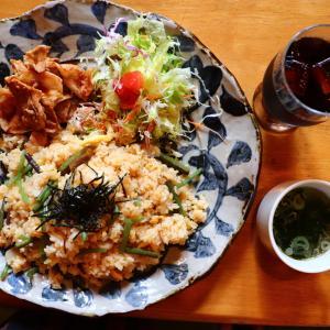 いわき市 美味しいおすすめグルメ・ランチ「レストラン木木(もくもく)」三菜ピラフ