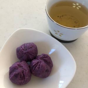 お芋が旬の季節🍠✨「おやつに紫芋のきんとん❤️」