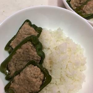 野菜嫌いの子供におすすめ(*^▽^*)⤴︎✨「ピーマンの肉詰め」