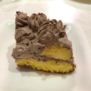 おやつにチョコケーキ「簡単手抜き手作りケーキ♬✨」