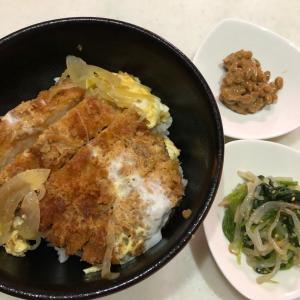 家族がつどう昼ごはん【カツ丼❣】ガッツリ食べて力をつけましょう(*^▽^*)✨