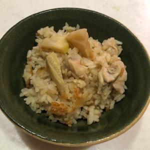 たけのこが旬の季節vol.2✨「たけのこの炊き込みご飯」定番で美味しい(≧◇≦)💕