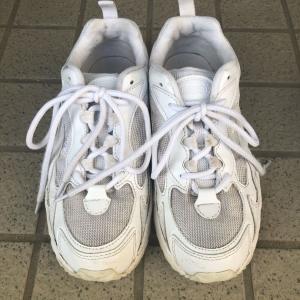 どろんこ靴を真っ白に✨「梅雨明け&夏休みなので洗いました」