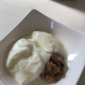 プルーンのヨーグルト漬け「離乳食にどうぞ♬」ドライプルーンを柔らかくおいしく(*^▽^*)💕