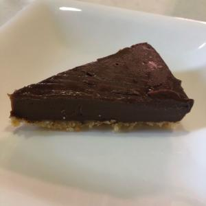 生チョコケーキ「娘の手作りケーキ」濃厚でおいしい(*^▽^*)💕
