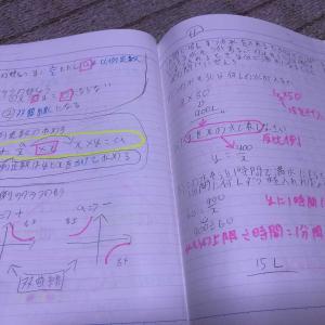 子供の勉強ノート「要点をおさえて書いているよ✨」わたしの学生時代より優秀だ(≧◇≦)すごいじゃん✨