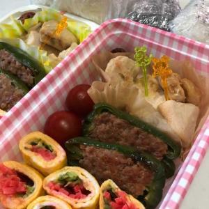 子供の林間学校のお弁当(﹡ˆ﹀ˆ﹡)【三色卵焼きは定番です💛】張りきって早起きした母、笑💦