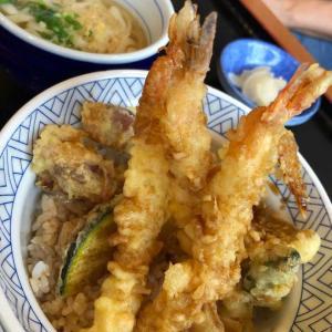 夫婦でランチを楽しむ♬【蜜を避けてランチへGO(*^▽^*)】天丼天丼~💕ところが…。