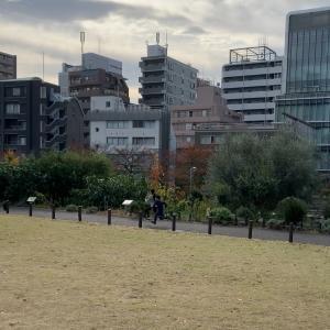 中目黒公園ピクニック & iknow3,600語