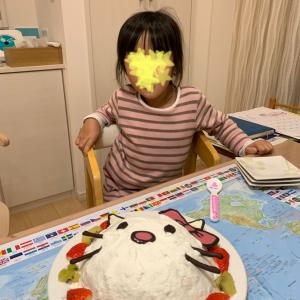 下の子の誕生日 my daughter's birthday