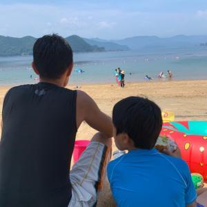 夏休み初日! 和具の浜 & 銚子川!