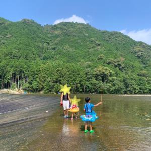 夏休み2日目! 銚子川 & 和具の浜 & 白浦漁港魚釣り!