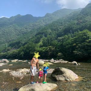 夏休み3日目! 連日の銚子川 & 和具の浜 & 白浦漁港魚釣り!