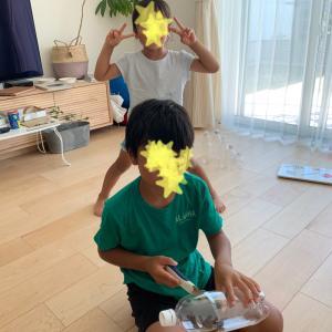 夏休み7日目! 自由研究&プール