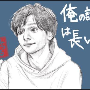漫画お休みに描く落書き☆