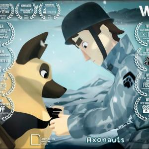 【この動画、考えさせられる!】アニメ 昔、爆弾背負わされた犬がいたよ