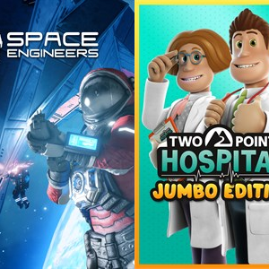 「Space Engineers」、「Two Point Hospital: JUMBO Edition」が週末無料開放