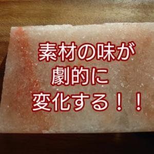なんで今まで使わなかった?今更ながら【岩塩プレート】を使ってみて驚いた件!