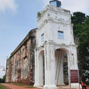 【世界遺産】セントポール教会(マレーシア/マラッカ)【廃墟】