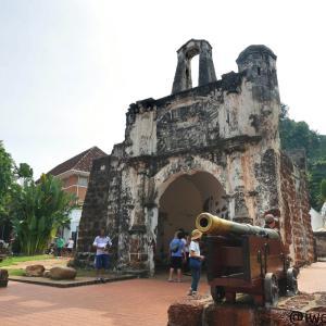 【世界遺産】ファモサ要塞跡(サンチャゴ砦)(マレーシア/マラッカ)【一見の価値あり】