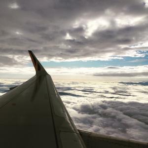 【お気に入り】飛行機の翼写真#2【映え写真】【感動】