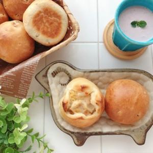 クルミパンとグラタンパン