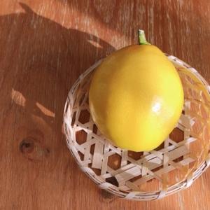 室内で育てる:レモン収穫:ミニバラ