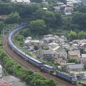 撮影日記 東海道本線 湯河原 SS60ニーナ