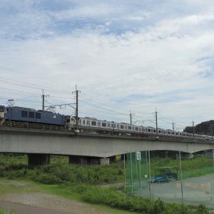 撮影日記 武蔵野南線 多摩川 E217系NN廃回