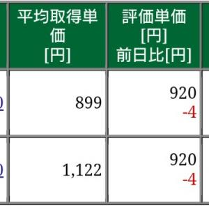 保有株式と資産状況☆2020/1/11(土)