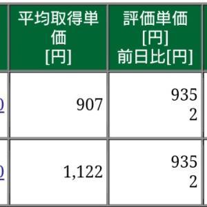 保有株式と資産状況☆2020/1/18(土)