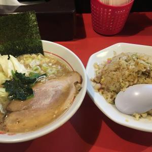 うまいラーメン 松福 東椎路店 うまいラーメンハーフ550円+半チャーハン450円