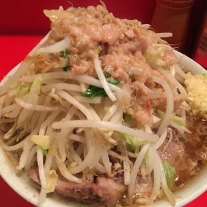 ラーメン二郎 府中店 ブタ入りラーメン 850円
