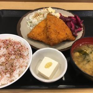 東名・鮎沢PA上り アジフライ定食 780円