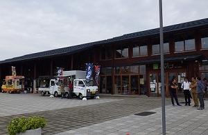 「道の駅あいづ 湯川・会津坂下」異様な雰囲気です。((´・ω・`;))