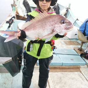 マダイ、尺アジ釣り、人と連絡を取り合って魚釣りに行く、人とのコミニケーションを深めましょう。