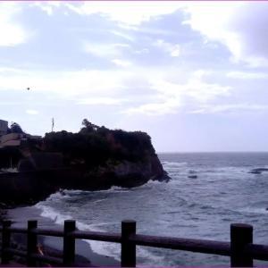 伊勢志摩の波切港は台風9号10号の影響で海は大荒れ