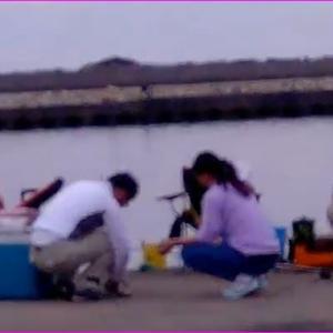 台風10号後の伊勢志摩のキス、グレ釣り