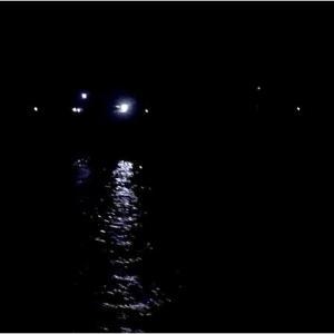 堤防の夜釣り、サビキで大アジ釣り爆釣