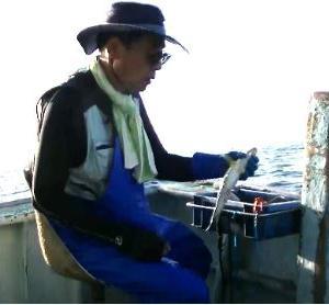 大王崎沖、マダイ、イサギ、仕掛け、釣り方