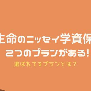 日本生命のニッセイ学資保険には2つのプランがある!選ばれてるプランとは?