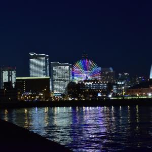 フリー素材の写真・夜景・海・横浜