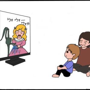 テレビから孫が学んだ事