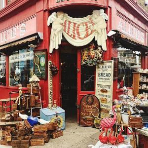 映画で有名なロンドンのノッティングヒルは可愛いがたくさん詰まった街